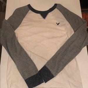 American Eagle Men's Thermal Long Sleeve Shirt